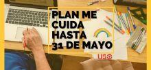 Plan Me Cuida: prórroga hasta el 31 de mayo