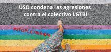 USO condena las agresiones contra el colectivo LGTBI