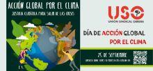 Frente a la emergencia, USO apuesta por la justicia climática para salir de la crisis